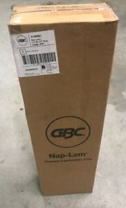Gbc Nap I Standard Roll Film 1 5 Mil 27x500 2 Pack Thermal Lamination Supplies