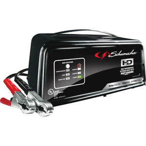 Schumacher 12v Automatic Starter Battery Charger