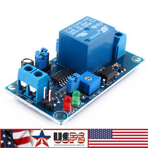 1 10 Automation 12v Led Display Digital Delay Timer Control Switch Relay Module