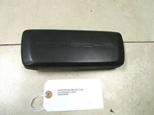 Porsche 944 928 911 968 Black Leather Horn Pad 944347859058yr