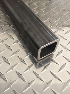 2 X 2 X 1 4 Hot Rolled Steel Square Tubing X 12 Long