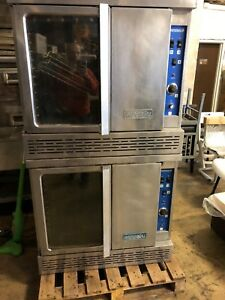 Imperial Icv 2 Gas Commercial Turbo flow Double Deck Convection Oven