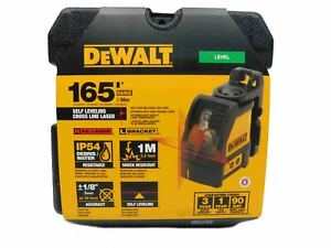 Dewalt Dw088k Cross Line Laser Level Self Leveling Horizontal Vertical With Case