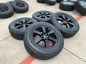 20 Ford F 150 Expedition Oem Black Rims Wheels Tires 10004 2018 2019 2020 New