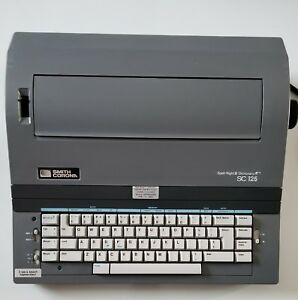 Smith Corona Sc 125 Electronic Typewriter Spell right Ii Excellent Condition
