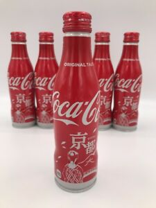 Coca-Cola Aluminum Bottle Special Edition 2017 Kyoto  Japan SEALED  FULL & NEW!