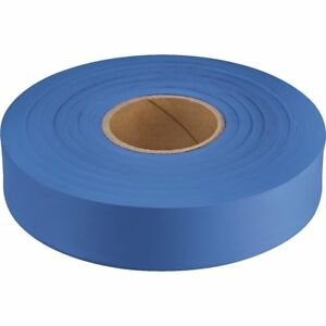 12 Pack Empire 300 Glow Blue Construction Flagging Tape Weatherproof