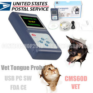 Contec Cms60dvet Veterinary Oximeter Spo2 Blood Oxygen Heart Rate Monitor Sw