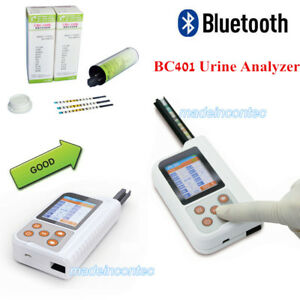 Portable 11parameter Urine Analyzer Bc401 Usb bluetooth test Strips 2