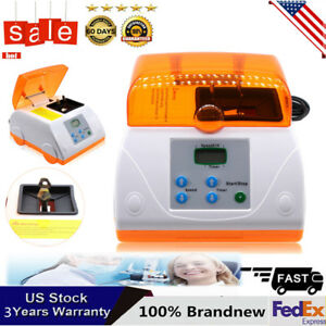 Dental Lab Amalgamator Fast Speed Amalgam Capsule Mixer Blender Hl ah G7 110v