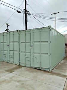 20ft Shipping Container Sea Cargo Storage Bulk Container
