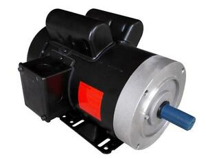 Rolled Steel Farm Duty Ac Motor 1 5hp 1800rpm 56c Removable Feet Single Phase