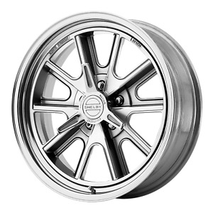 American Racing Vn427 Shelby Cobra 18x8 5x114 30 2 Piece Polished Wheels