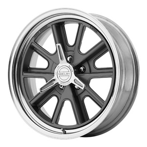 American Racing Vn427 Shelby Cobra 18x8 5x114 30 2 Piece Mag Gray Center Polish
