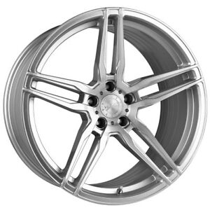 20 Vertini Rf1 6 Forged Silver Concave Wheels Rims Fits Bmw E60 M5
