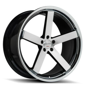 20 Giovanna Mecca Ff Diamond Cut Concave Wheels Rims Fits Nissan Maxima