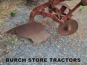 Allis Chalmers G Tractor Bottom Turning Plow With Coulter Depth Wheel