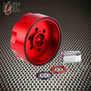 For 6 6l 01 16 Lb7 Lly Lbz Lmm Lml Gm Chevy Fuel Filter Adapter Red