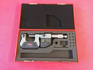 Spi Digital Thread Outside Micrometer 0 1 Resolution 00005 machinist Tools