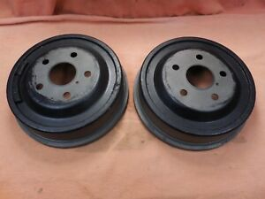 67 68 69 70 shelby mustang used Original 10 Rear Brake Drums ford Fomoco