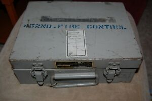 Vintage Military Tube Tester Socket Adapter Kit Mx 949a u Sold As Is