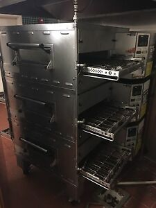 Pizza Oven Conveyor Triple Stack Middleby Marshall Ps536e Electric 208v