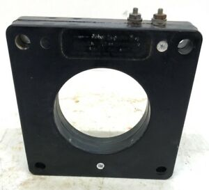 General Electric Current Transformer 8sht 401 Ratio 400 5a