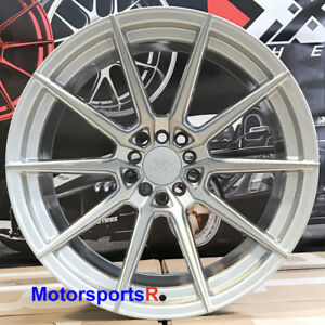 Xxr 567 Silver Wheels 18x9 5 10 5 20 Staggered Rims 5x4 5 04 Ford Mustang Cobra