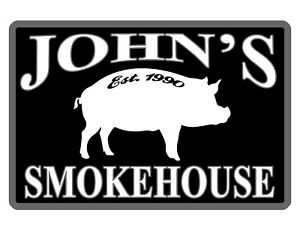 Personalized Smokehouse Sign Durable Aluminum No Rust Full Color Custom Sign 075