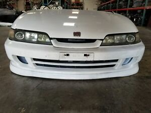 1998 99 00 2001 Acura Integra Jdm Dc2 Itr Front Nose Cut Type R Conversion White