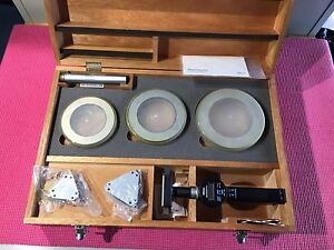 Mitutoyo Digital Borematic Inside Micrometer 3 2 4 4 Inch W 3 Rings Machinists
