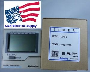 Le7m 2 Fa Industrial Digital Timer Autonics Programmable Multi Mode