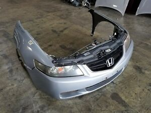 2004 2005 Acura Tsx Jdm Front End Conversion Nose Cut Cl7 Honda Accord Silver