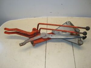 1966 Case 930 Diesel Tractor 3pt Hydraulic Levers