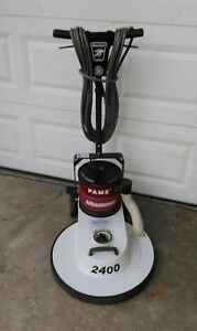 Minuteman Pams 2400 Rpm 20 Inch High Speed Floor Buffer With Dust Control