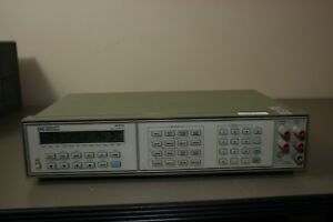 Hp Agilent 3457a Multimeter Calibrated With 30 Day Warranty