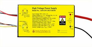 High Voltage Power Supply Dc dc Conversion Ahv24v15kv1maw From Usa