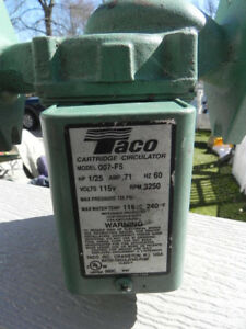 Taco 007 f5 Cast Iron Cartridge Circulator Pump 1 25 Hp