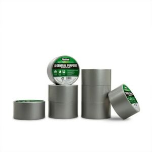 General Purpose Solid Duct Tape Gray Extra Wide Aluminum Adhesive Bonds Standard