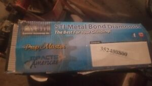Prep Master Metal Bond Floor Grinding Diamonds Brand New Never Use