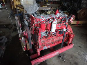 Caterpillar 3126b Turbo Diesel Engine Good Runner Industrial 3126 Bej 250 Hp