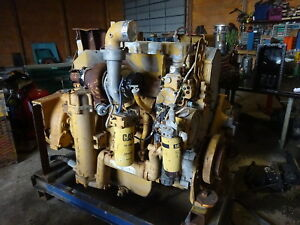 Caterpillar 3456 Turbo Diesel Engine Good Runner 834b 980g C16
