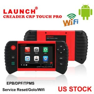 Launch Crp Touch Pro Diagnostic Scan Tool Sas Srs Epb Tpms Support Wifi Android