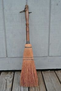 Primitive Vintage Hearth Straw Broom