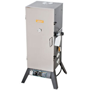 36 Propane Smoker Commercial Restaurant Residential 9000 Btu Outdoor Barbecue