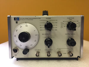 Hp Agilent 3310a 0 0005 Hz To 5 Mhz 10 Decades Function Generator
