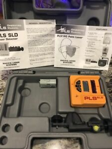 Pacific Laser Systems Pls Sld Detector Clamp And Case Never Used