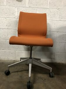 Herman Miller Setu Office Chair Chino Frame Mango Fabric