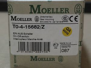6 Pole Eaton Moeller On Off Power Main Switch Mount 20a 690v Ac Dc 3 21a 23a 13