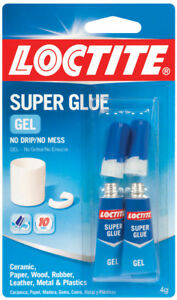 Super Glue Gel 2gm 2pk Loctite 1399965 Pkg Of 12 Upc 079340687233